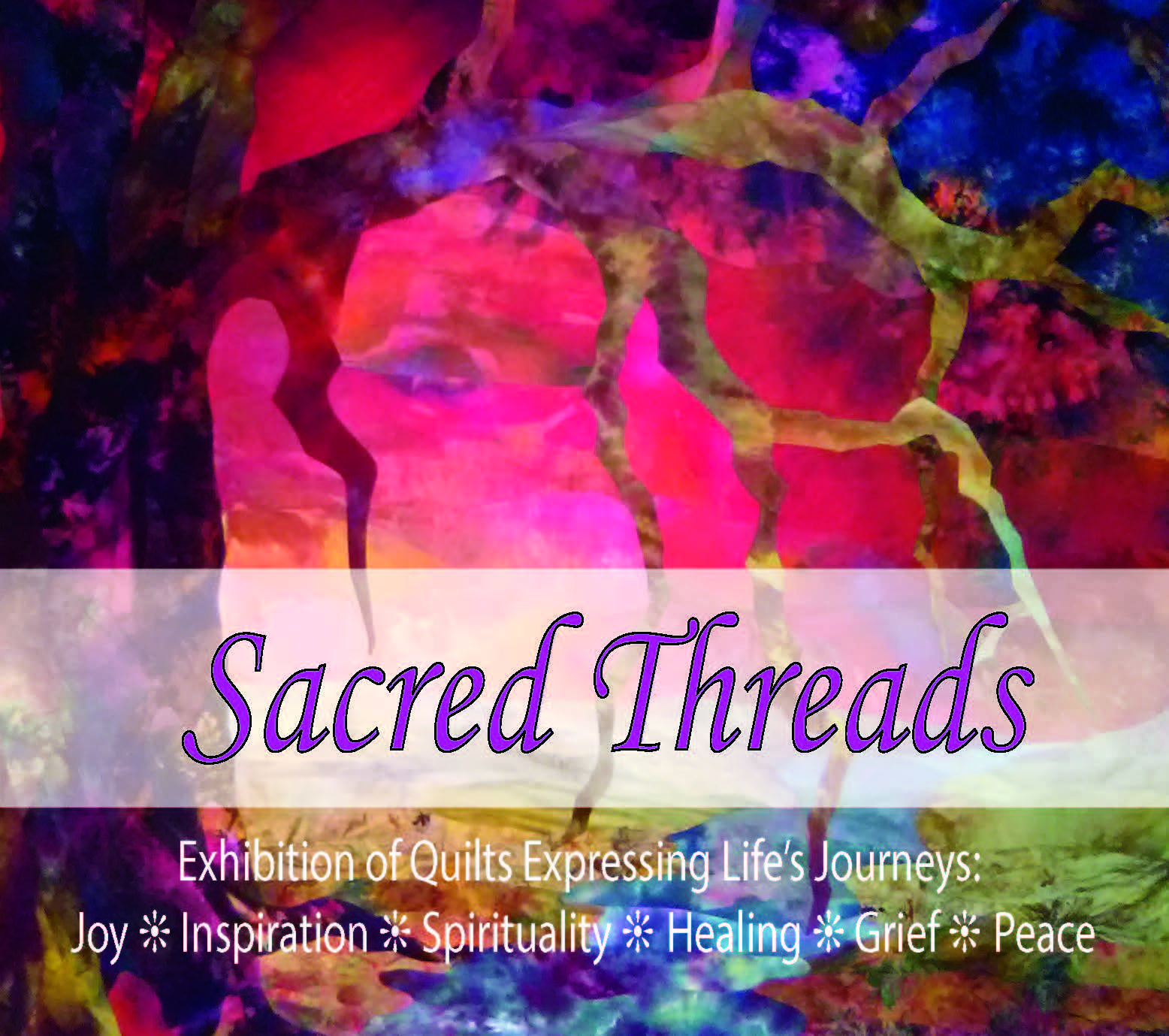 Sacred Threads Postcards